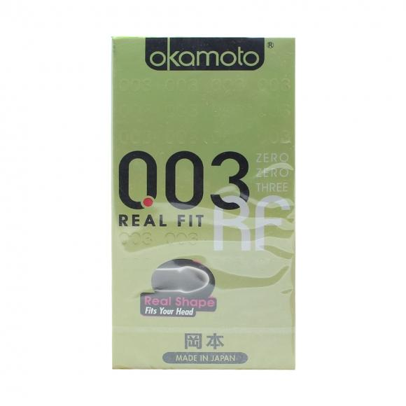 OKAMOTO 003 REAL FIT CONDOM 6'S PACK