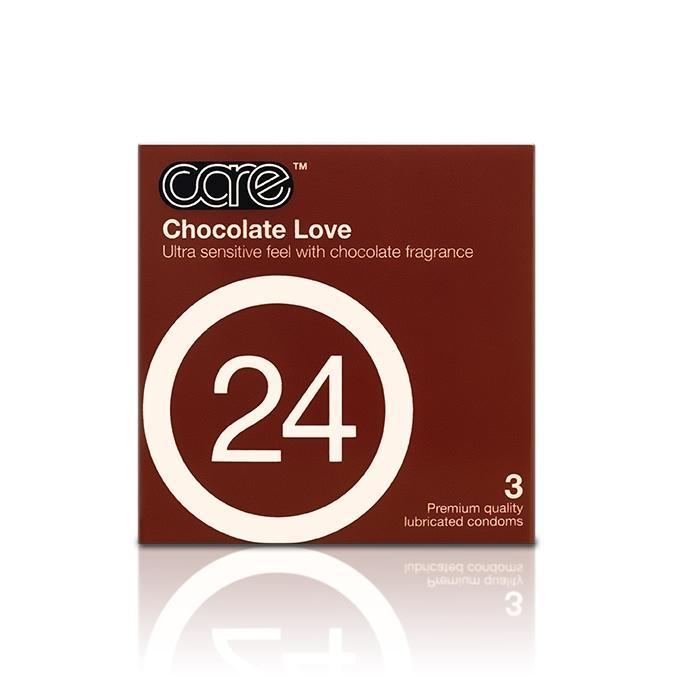 Care 24 Belgain Kisses Condom - 3's