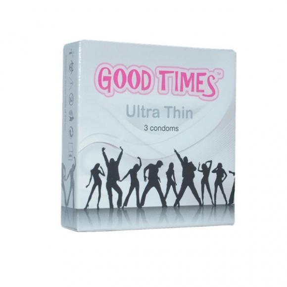 Good Times Ultra Thin condom - 3's