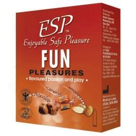 ESP (Enjoyable Safe Pleasure) Condom - Fun Pleasures 3pcs