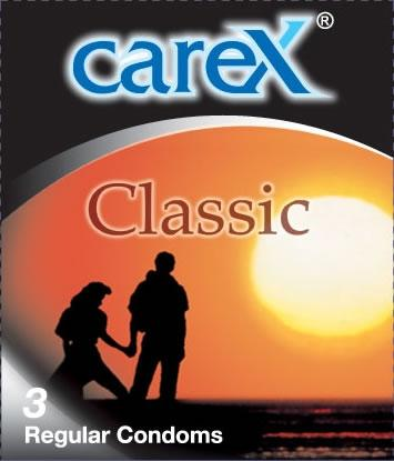 Carex Classic Condoms 3pcs