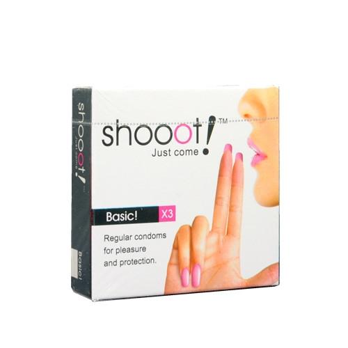 SHOOOT BASIC Condom / Kondom 3 pcs