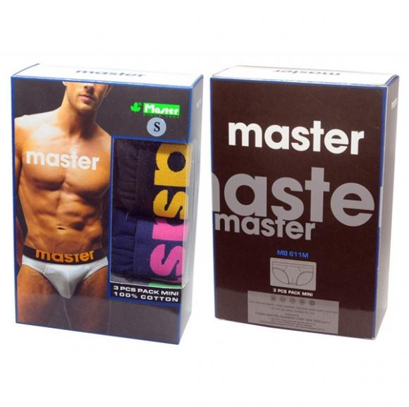 MASTER Mini Briefs MB611MS (3pieces)-S Size