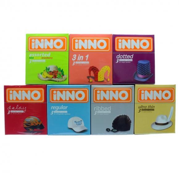 iNNO 7 in 1 Combo Set Condom - 21 pcs