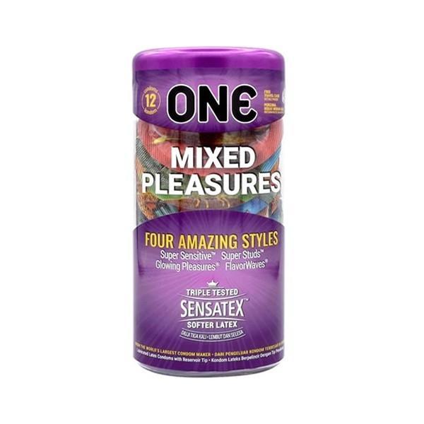 ONE Condom - Mixed Pleasures 12 - Pack