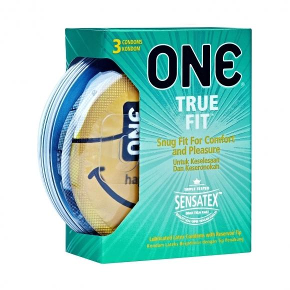 ONE Condom - True Fit 3-Pack