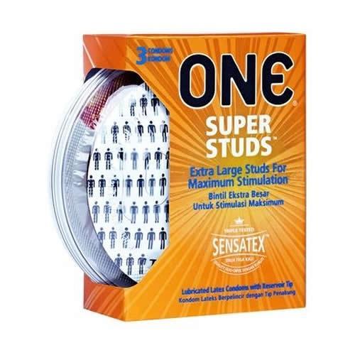 ONE Condom - Super Studs 3-pack