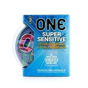 ONE Condom - Super Sensitive 3-Pack