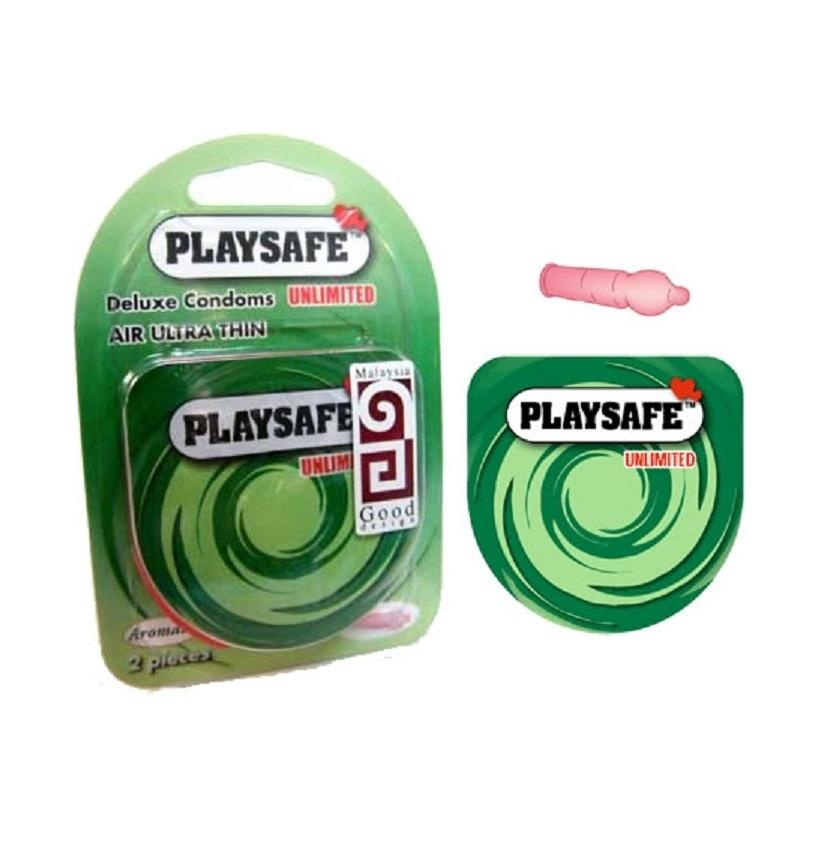 PLAYSAFE QUICK & EASY 002 (Ultra Thin) 2's