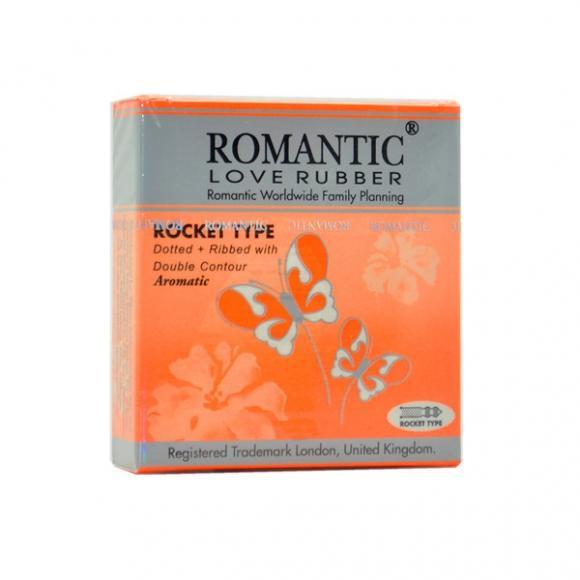 Romantic Love Rubber Rocket Type - 3's