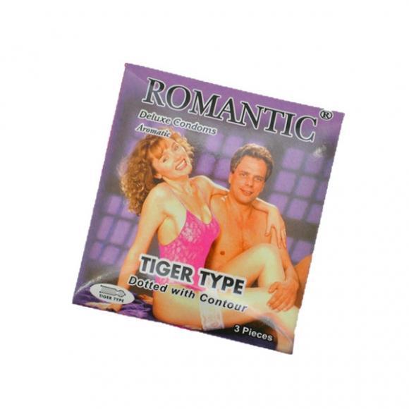 Romantic Deluxe Tiger Type - 3's