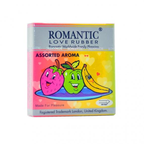 Romantic Love Rubber Aroma Assorted- 3's