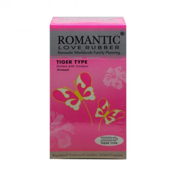 Romantic Love Rubber Tiger Type - 12's