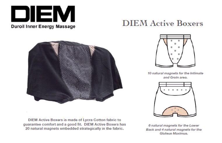 DIEM Active Boxers (Active Wear For Erection Enhancement)