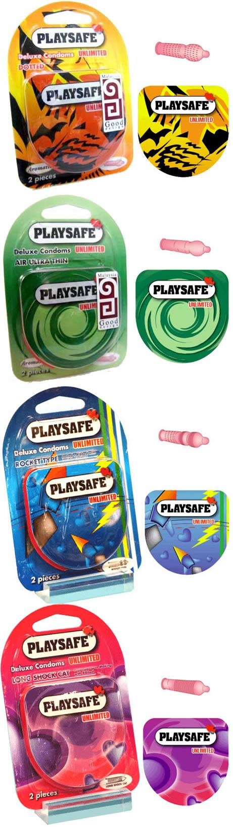 PLAYSAFE QUICK & EASY 4 in 1 COMBO - 8's