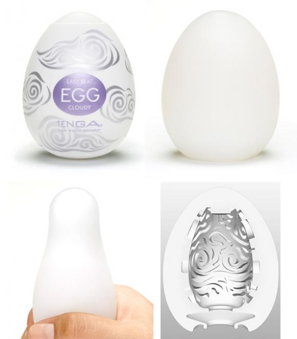 TENGA EGG - EASY ONA-CAP CLOUDY