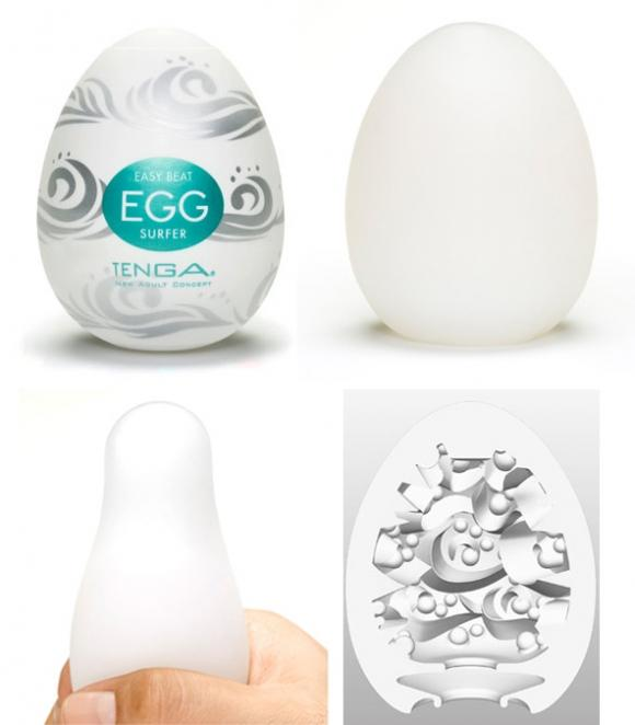 TENGA EGG - EASY ONA-CAP SURFER