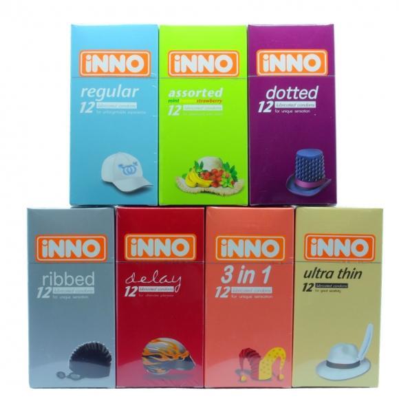 iNNO 7 in 1 Combo Set Condom - 84 pcs