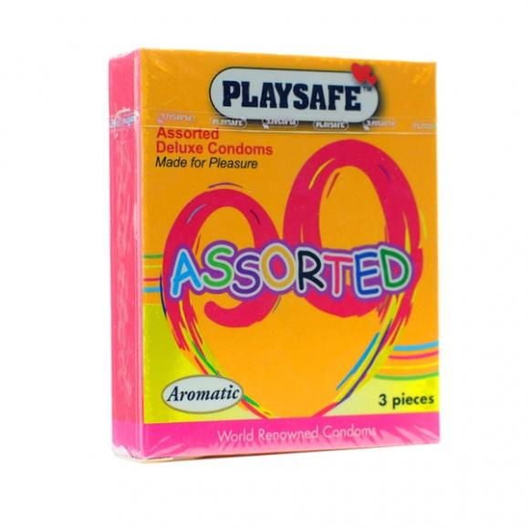 PLAYSAFE ASSORTED - 3's