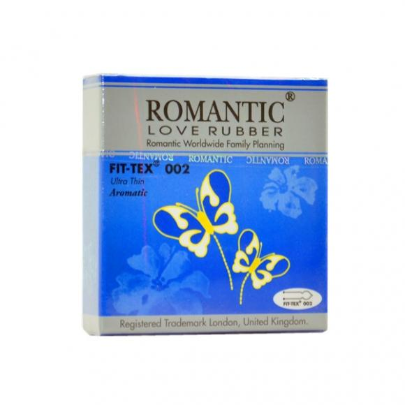 Romantic Love Rubber Fit Tex 002 - 3's