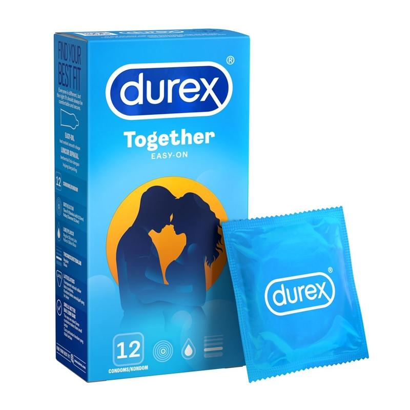 Durex Together Easy-On Condom 12's