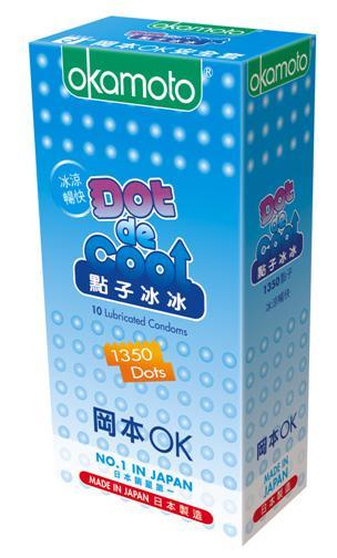 OKAMOTO DOT DE HOT and DE COOL Condom - 20's 1