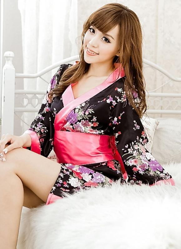 Japanese Kimono Cuties Dress 2