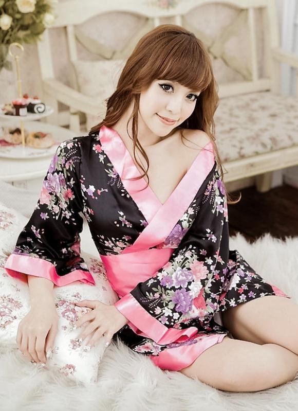 Japanese Kimono Cuties Dress 4