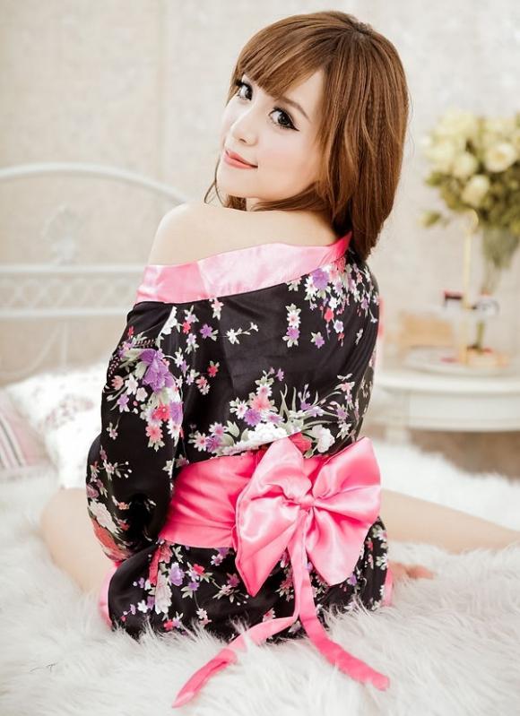 Japanese Kimono Cuties Dress 3