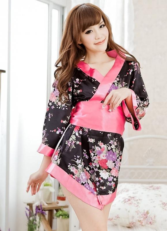 Japanese Kimono Cuties Dress 5