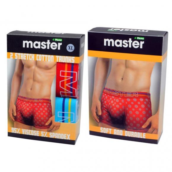 MASTER Trunk Briefs MB646SL (2 pieces)-L Size