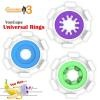 Youcups Universal Ring Blue, Purple, Green (3 in 1)
